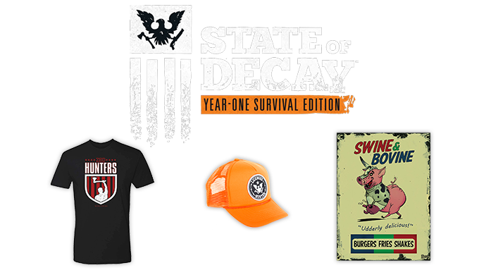 State of Decay merch