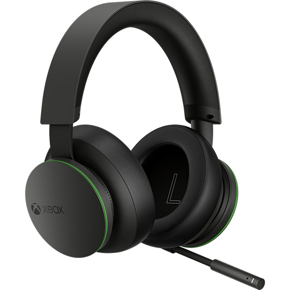 Detail view of Xbox Wireless Headset