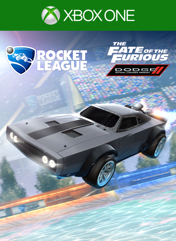 Rocket League® ⎼ The Fate of the Furious™ Ice Charger
