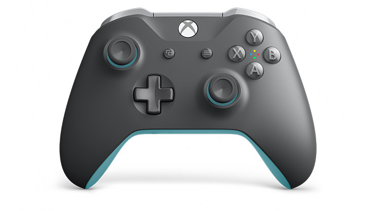 Xbox Wireless Controller – Grey/Blue