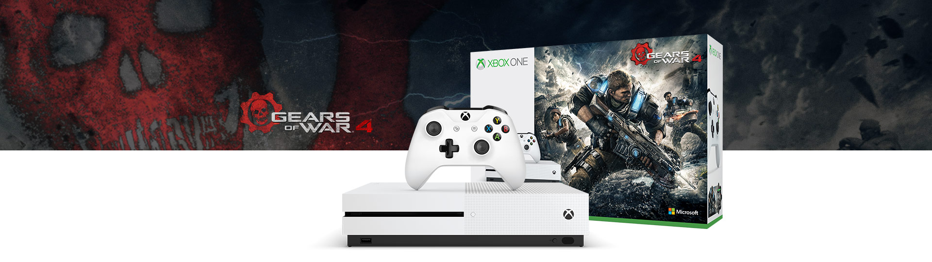 Paquete Gears of War para Xbox One S (500GB)