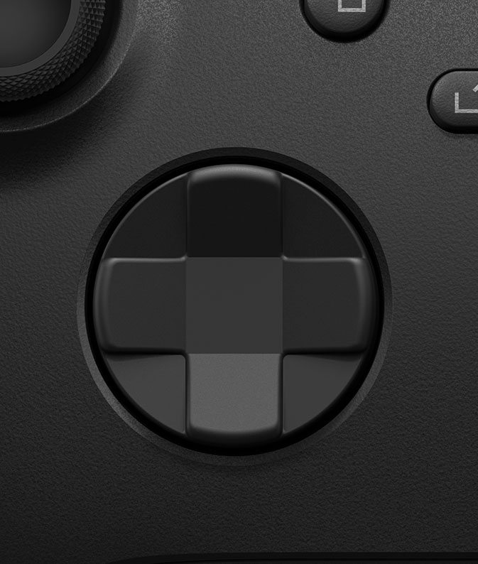Xbox wireless controller updated D-pad