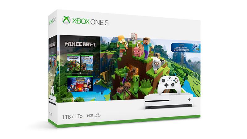 50€ de descuento en tu Pack Xbox One S y Minecraft