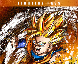 FighterZ Pass, Super Saiyan Goku facing forward and attacking