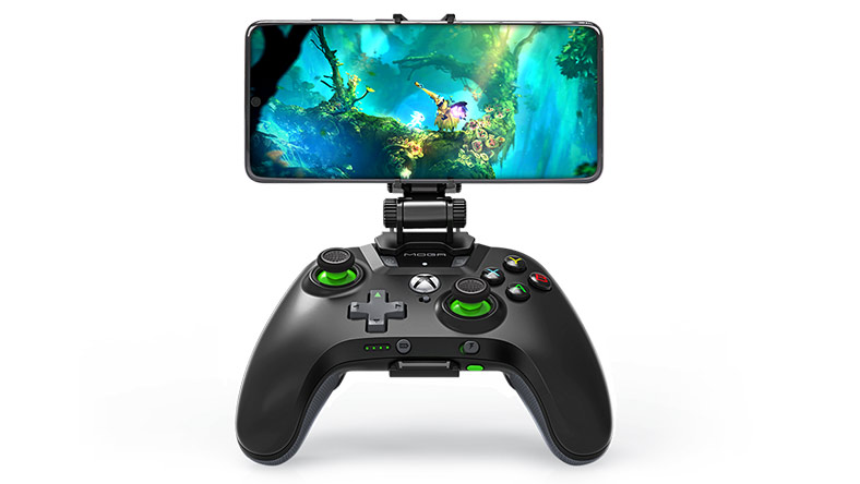 MOGA XP5-X Plus Bluetooth Controller with detachable gaming clip