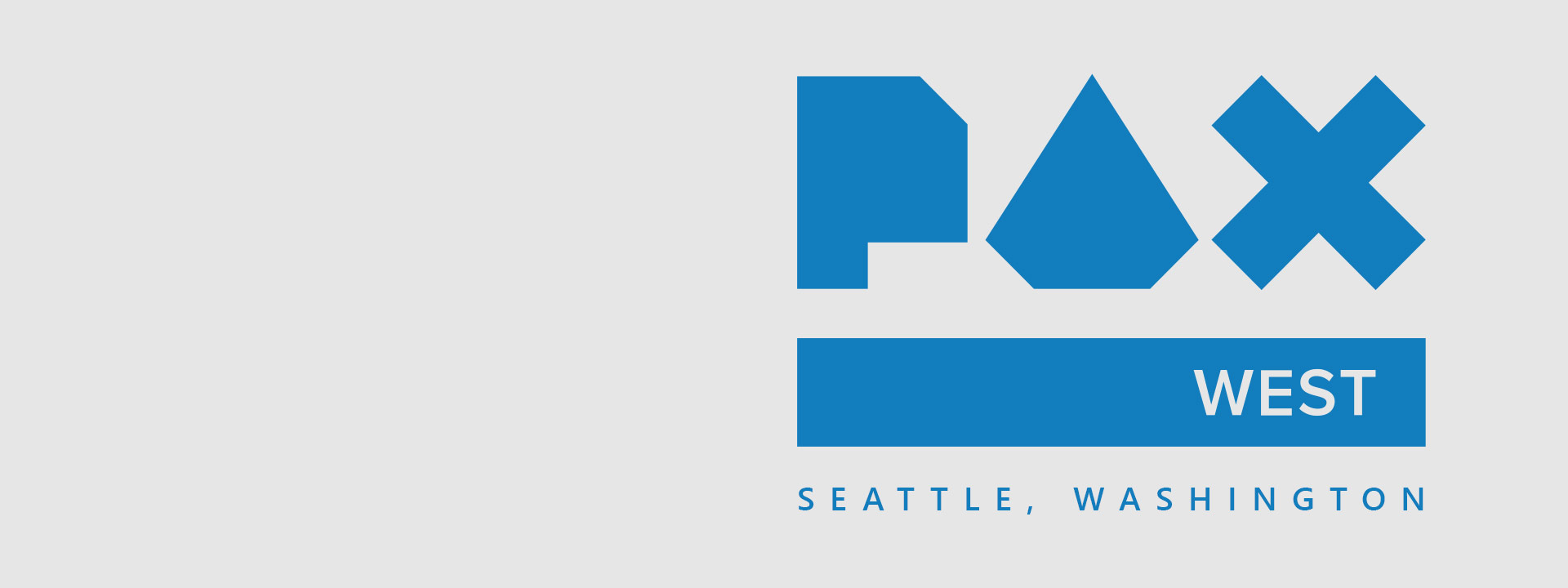 Seattle Washington, PAX west logo