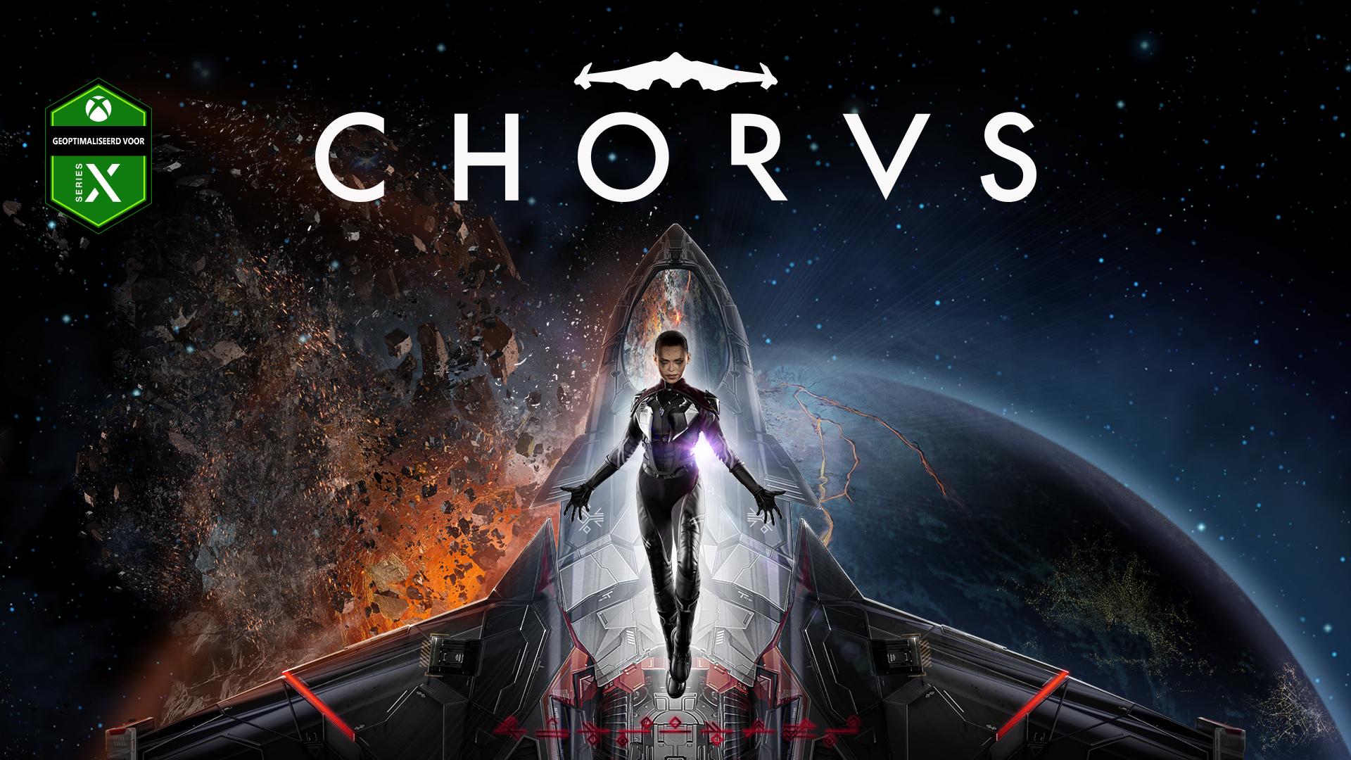 Key art van de game Chorus.