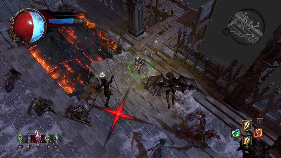 Gameplay von Path of Exile