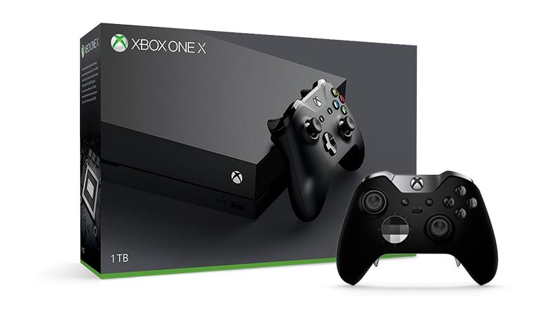 25€ de desconto no teu comando Elite na compra da tua Xbox One X