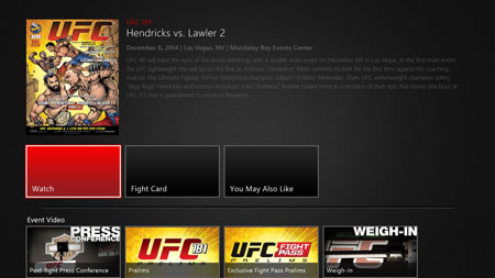 Watch UFC Pay-Per-View events live
