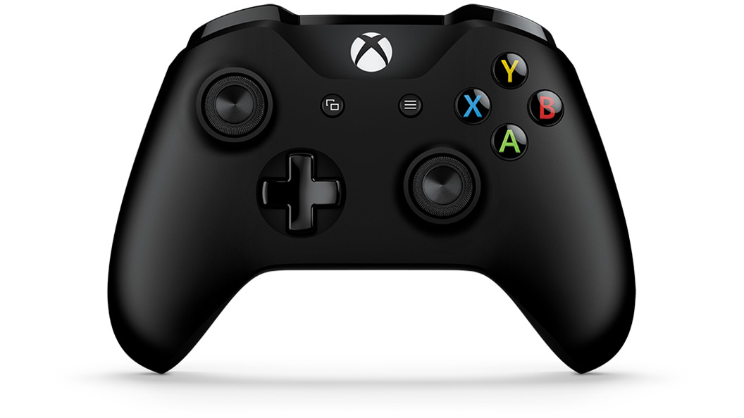 Xbox One wireless controller front facing