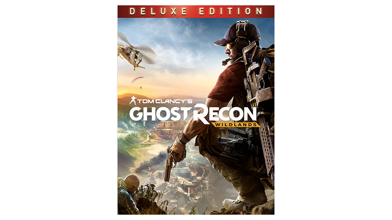 Imagem da caixa do Ghost Recon Wildlands Silver Edition