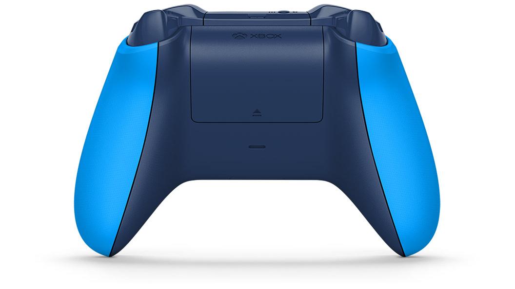 Blue Controller von hinten