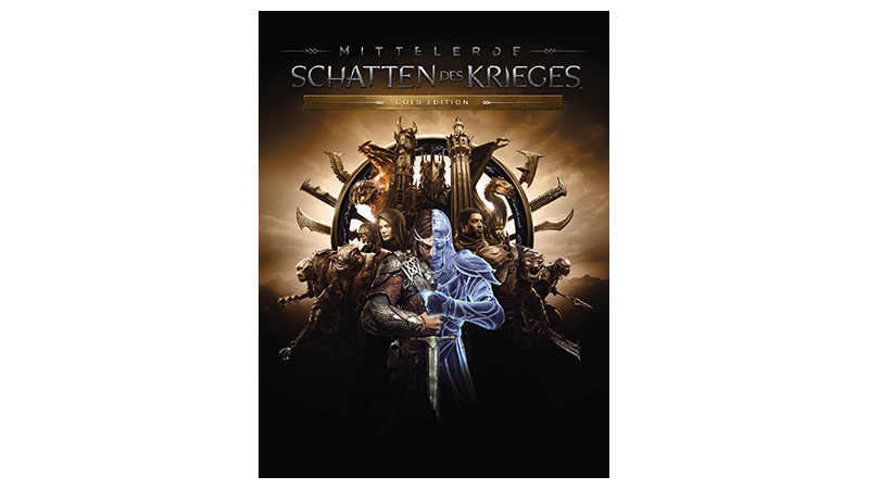 Mittelerde: Schatten des Krieges Gold Edition – Verpackung