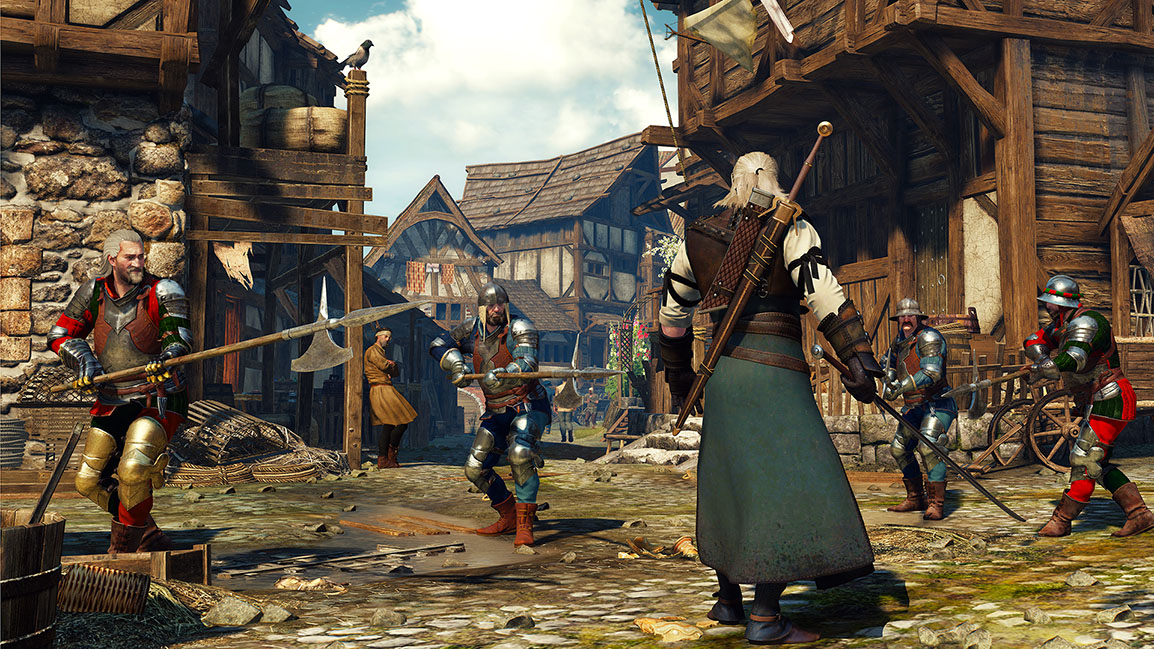 The Witcher 3: Wild Hunt – Kampf der Wachen