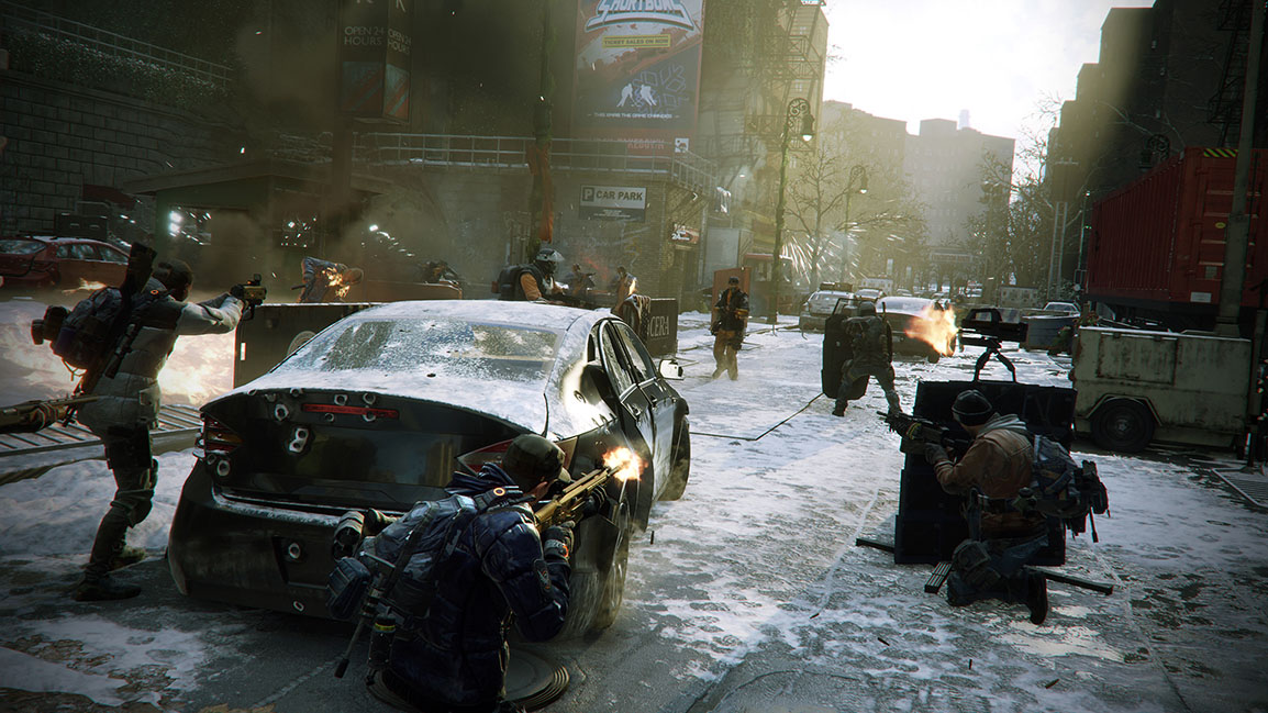 『Tom Clancy's The Division』– 路上での遭遇戦