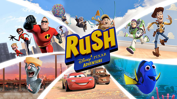 Rush: A Disney·Pixar Adventure boxshot
