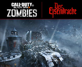 Carte Call of Duty Black Ops 3 Der Elsendrache zombies