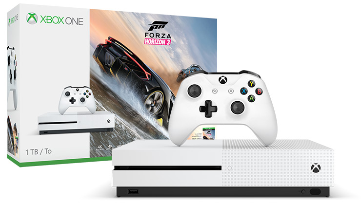 Xbox One S Forza Horizon 3-bundel (1TB)