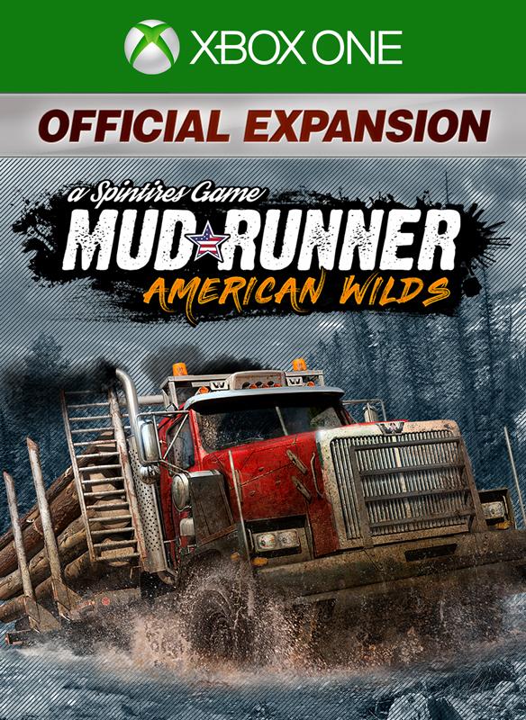 MudRunner - American Wilds Expansion boxshot