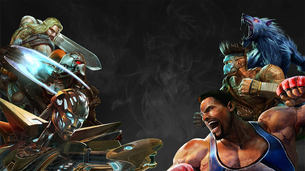 Killer Instinct: Definitive Edition game art