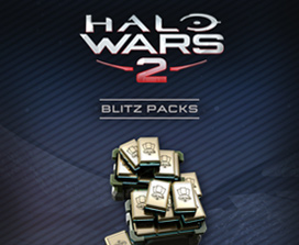 100 packs de Blitz de Halo Wars 2