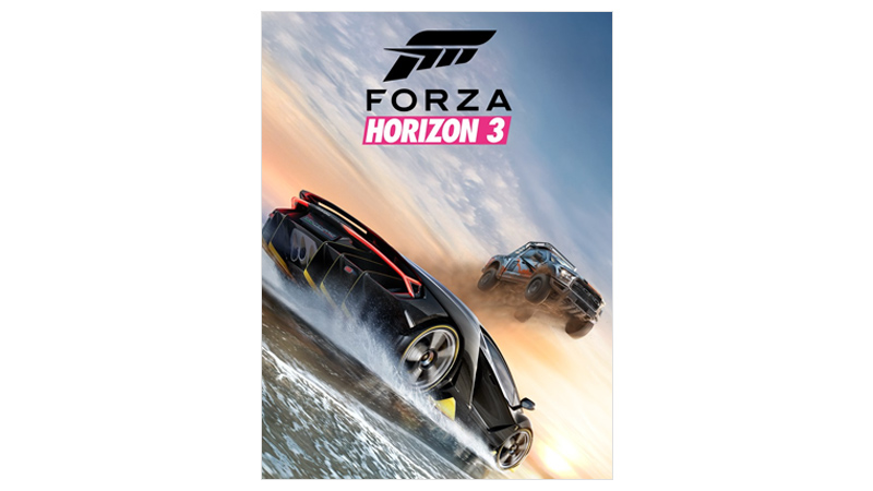 Forza Horizon 3 Standard Edition coverbilde