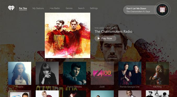 iHeartRadio on Xbox One