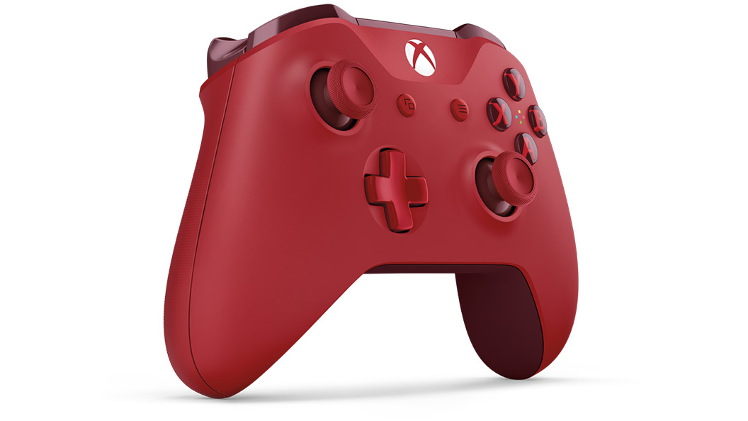 Red Controller von links