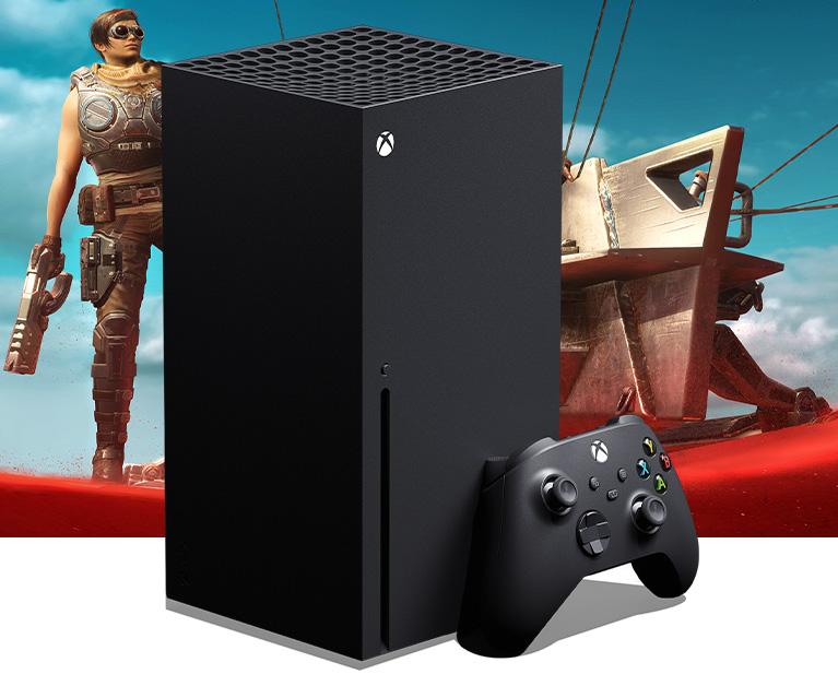 Xbox SeriesX-console plus controller