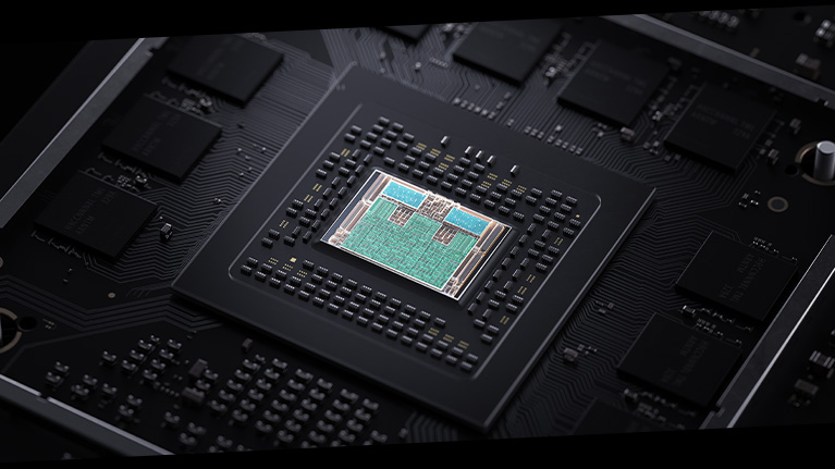 Xbox Series X AMD Zen 2 processor