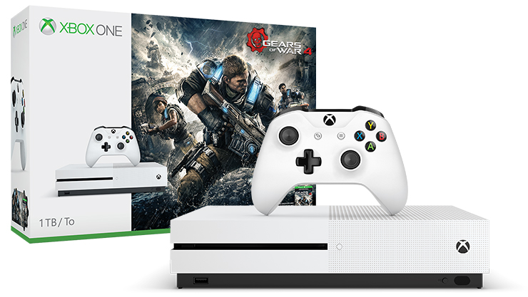 Πακέτο Xbox One S Gears of War 4 (1TB)