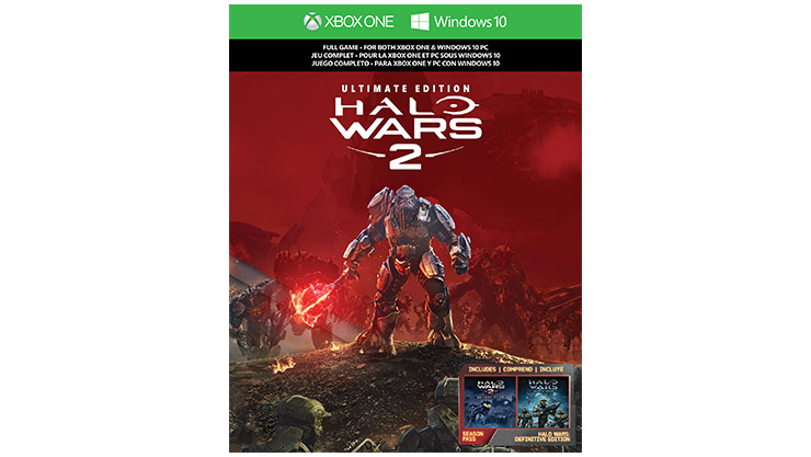 Imagem da caixa do Halo Wars 2: Ultimate Edition