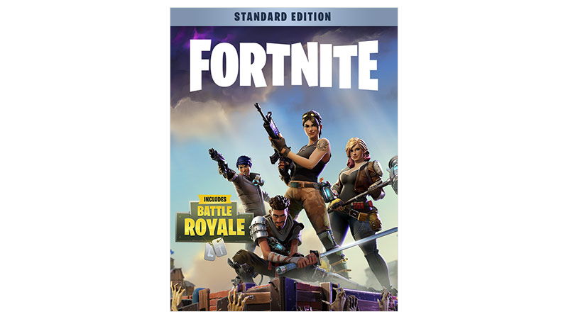 Fortnite Battle Royale standard founders edition boxshot