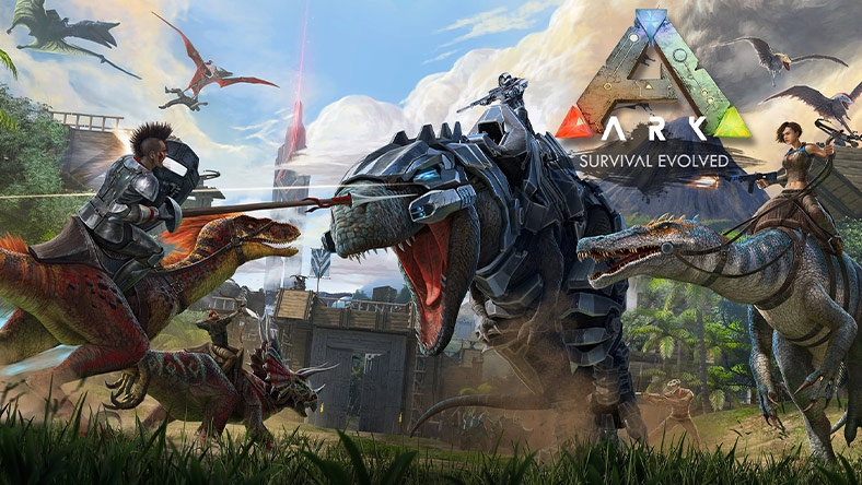 ARK: Survival Evolved box art.
