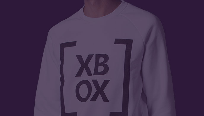 Xbox Gear - White Sweatshirt