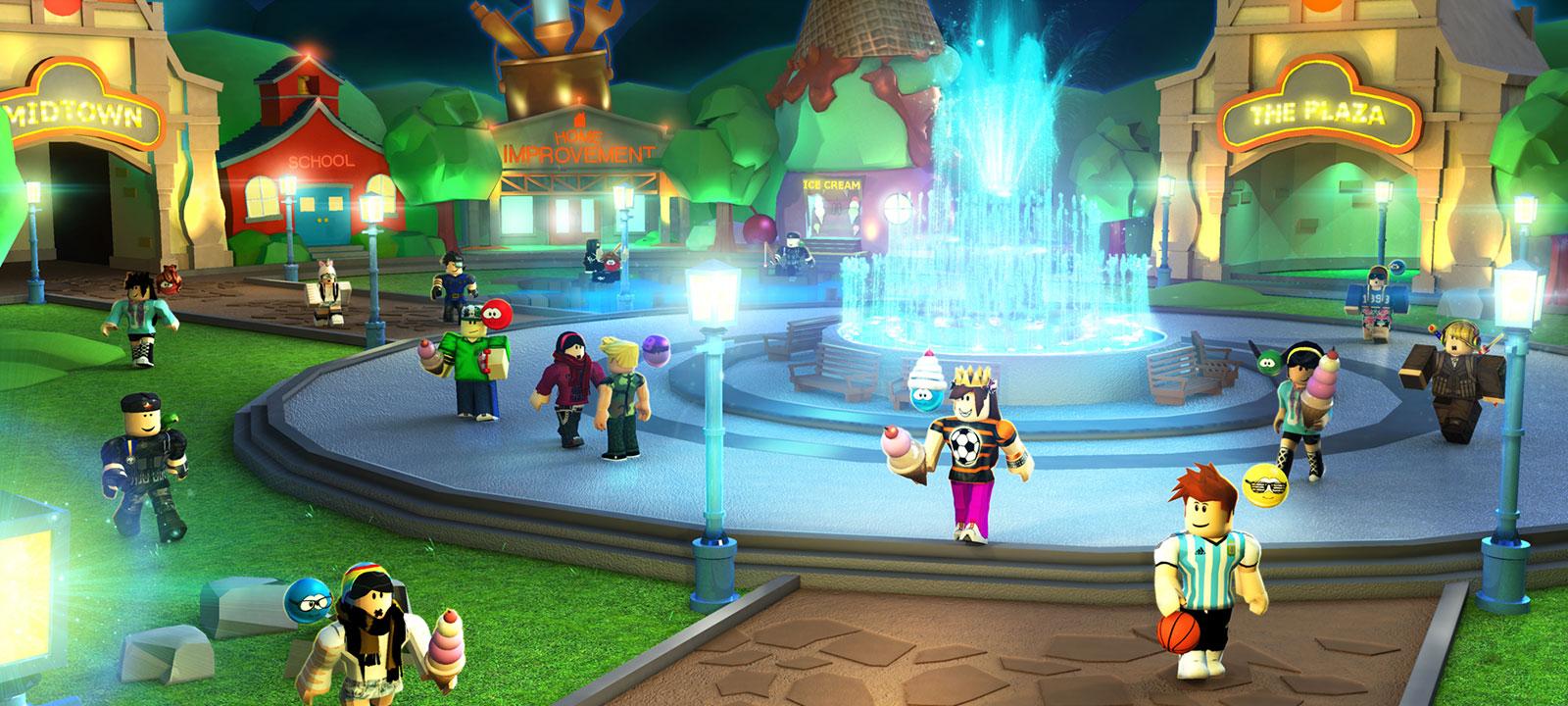 Charaktere aus MeepCity mit Eiscreme