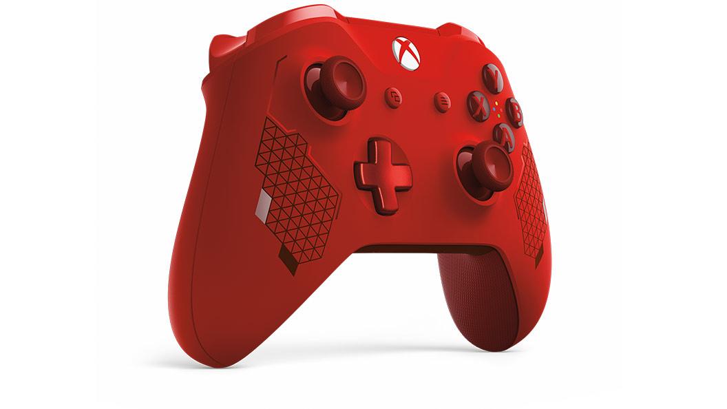 sport red 控制器左側圖