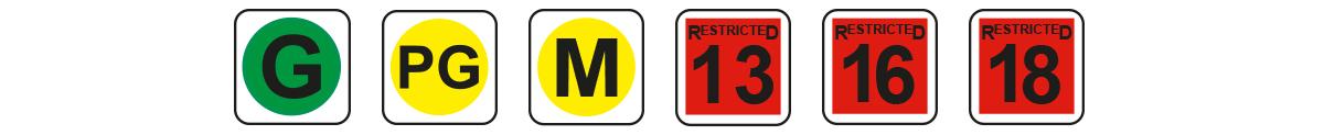 Rating logos