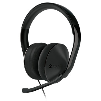 Side view of Xbox One Stereo Headset