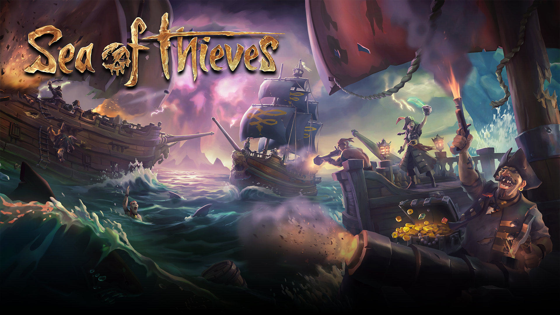 Sea of Thieves multiplayer details""