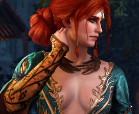 The Witcher 3: Alternatives Aussehen für Triss