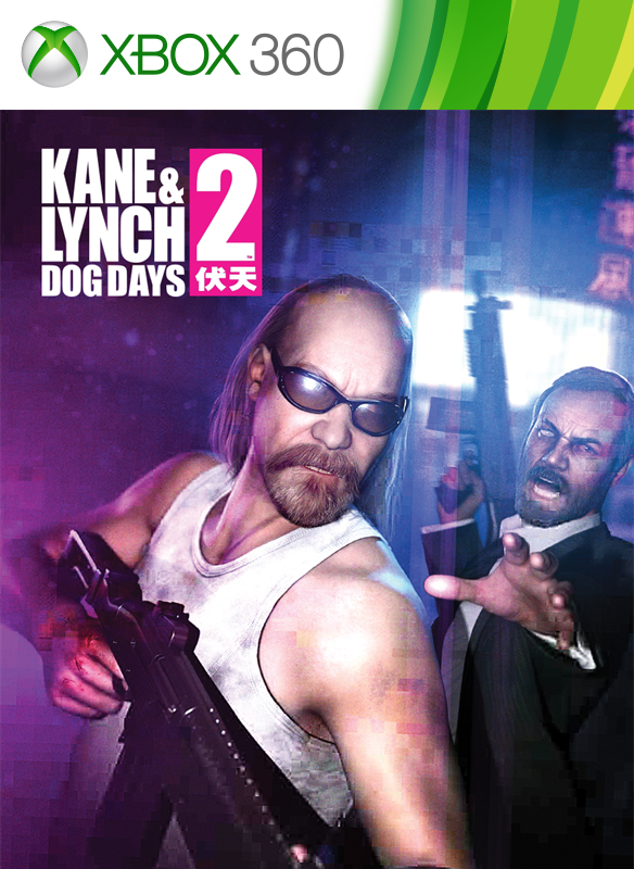 Kane & Lynch 2: Dog Days boxshot