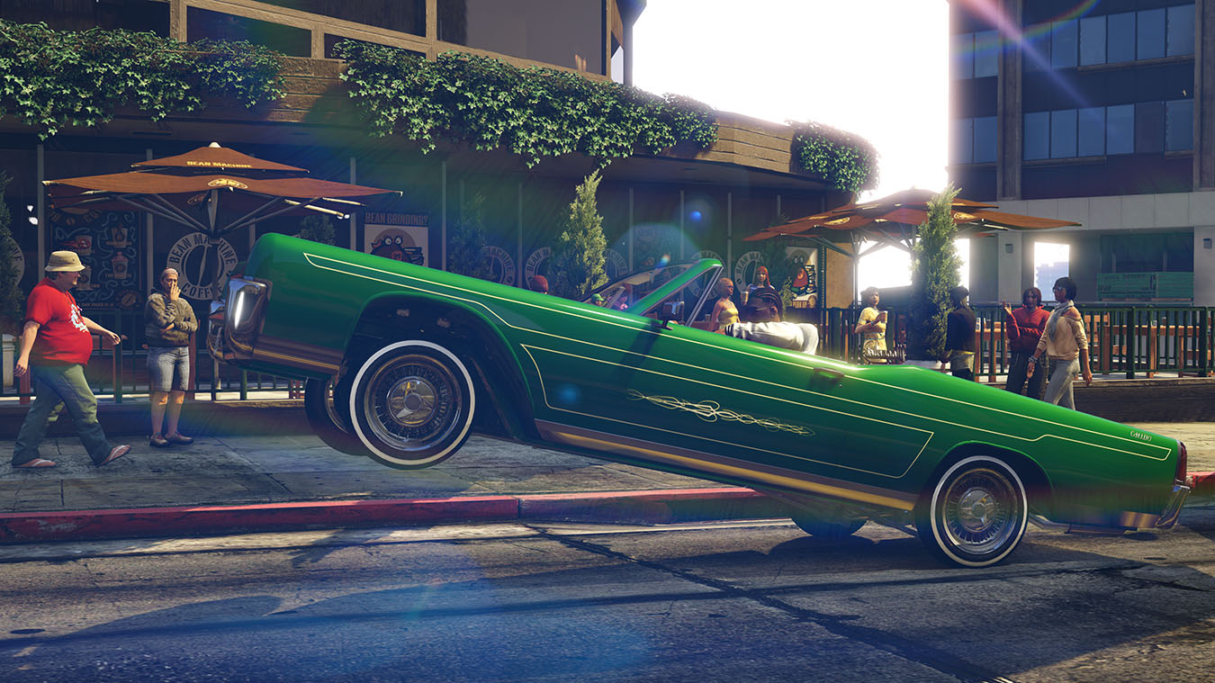 Grand Theft Auto V на Xbox One Xbox