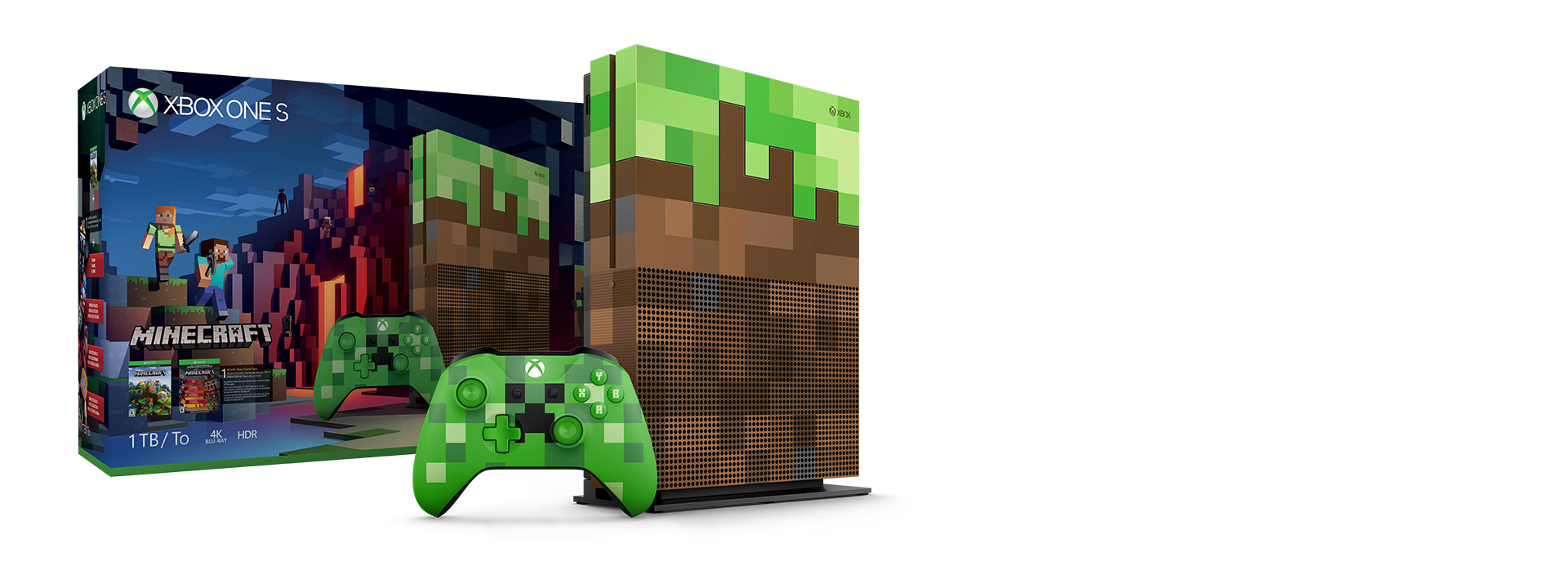 Xbox One S Minecraft Limited Edition (1TB)