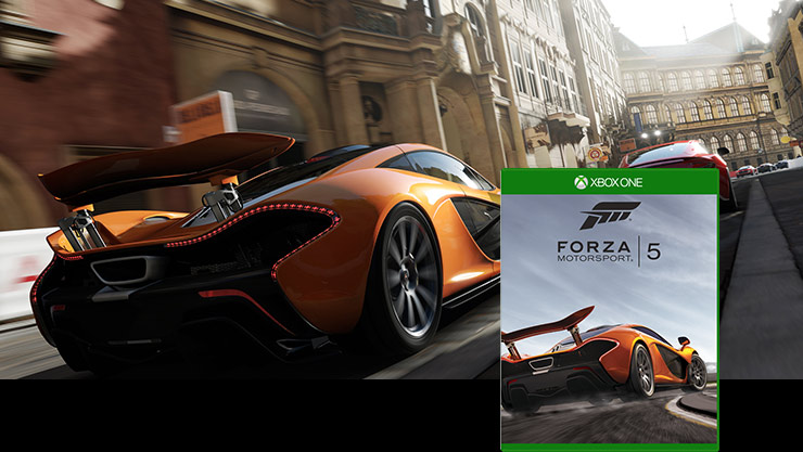Forza motorsport 5 box shot