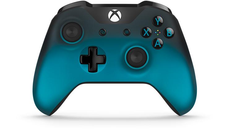 dd997f5a725 Control inalámbrico Xbox  Ocean Shadow Special Edition