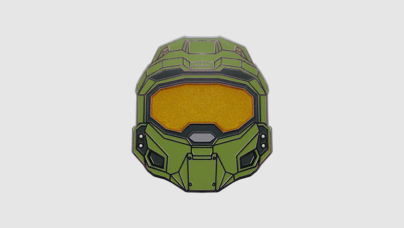 Master Chief Helmet Pin 01