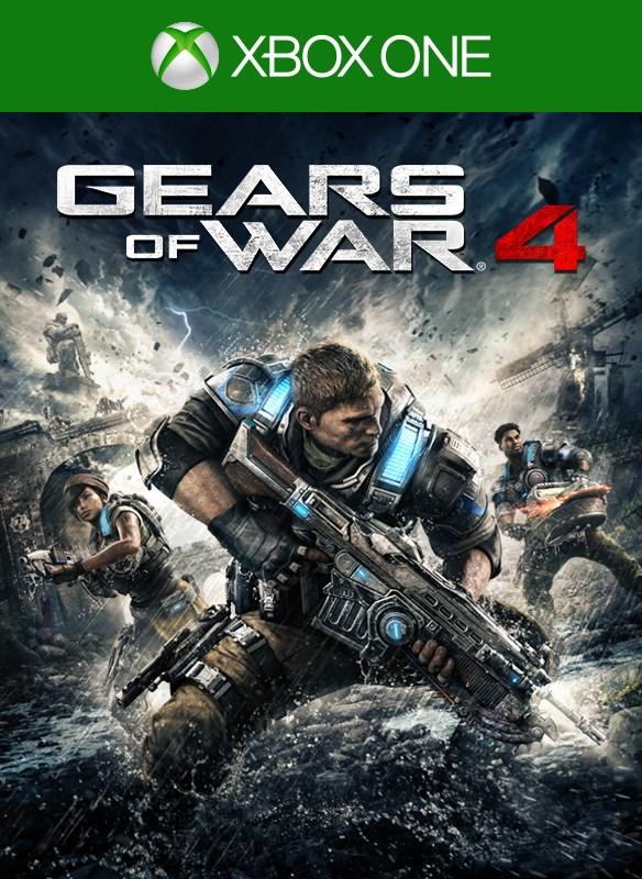 Gears of War 4 digital packshot