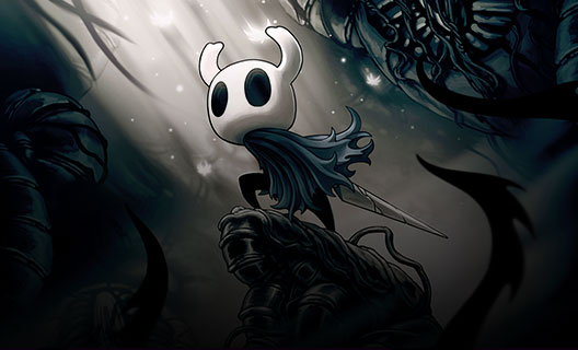 Game-art van Hollow Knight